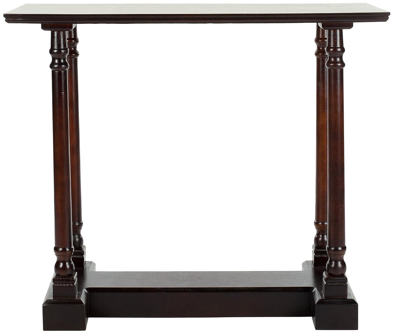 Safavieh Konsole, Holz, dunkles kirschrot, 93 x 38 x 78.74 cm EUH5708D EUH5708D_DarkCherry