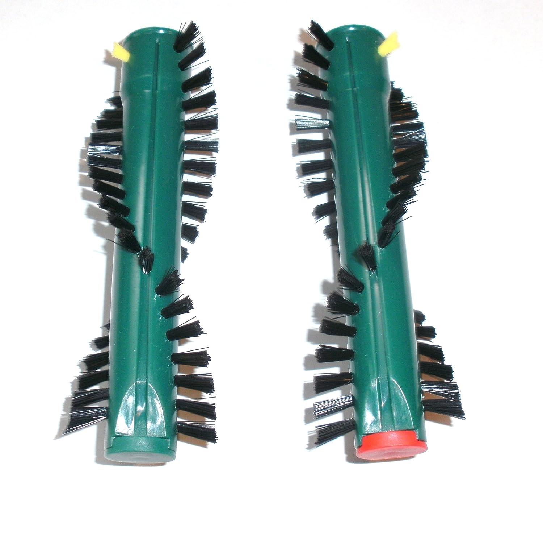 Mistervac A128 - Juego de 2 rodillos para cepillos para alfombras Vorwerk EB 360