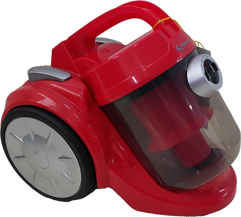 Aspirador Aspira todo Recogemigas diseño Con tecnología ciclónica sin bolsa 1600w Con cable retráctil: Amazon.es: Hogar