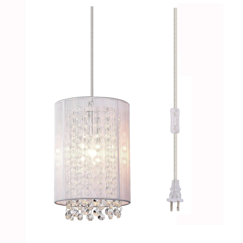 Lalula pendant lighting crystal pendant light fixture 1 light mini raindrop lights kitchen island chandelier pendant lights amazon canada