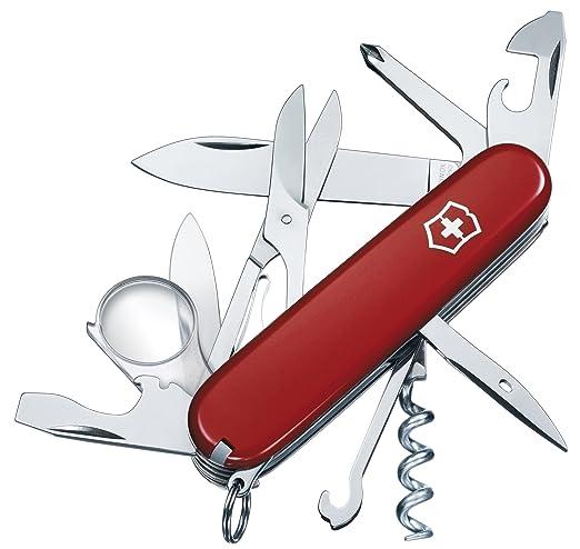 48 opinioni per Victorinox- Coltellino Multiuso 91mm- Explorer Rosso V-1.6703