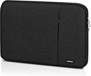 """Portable Monitor Case 15.6 Inch,Losong Padded Protective Carrying Sleeve for Most 15.6 Inch Portable Monitors,Water Resistant Portable Computer Laptop Display Bag with Accessory Pocket,Size-15.3""""x9.8"""""""