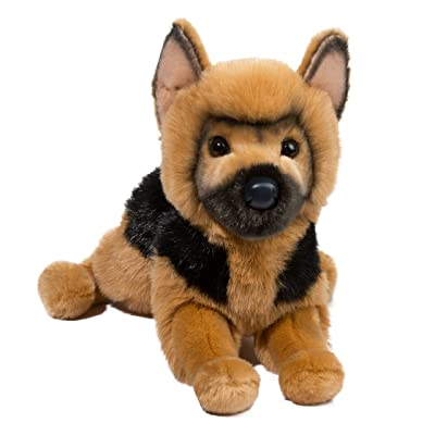 Douglas General German Shepherd Dog Plush Stuffed Animal: Toys & Games