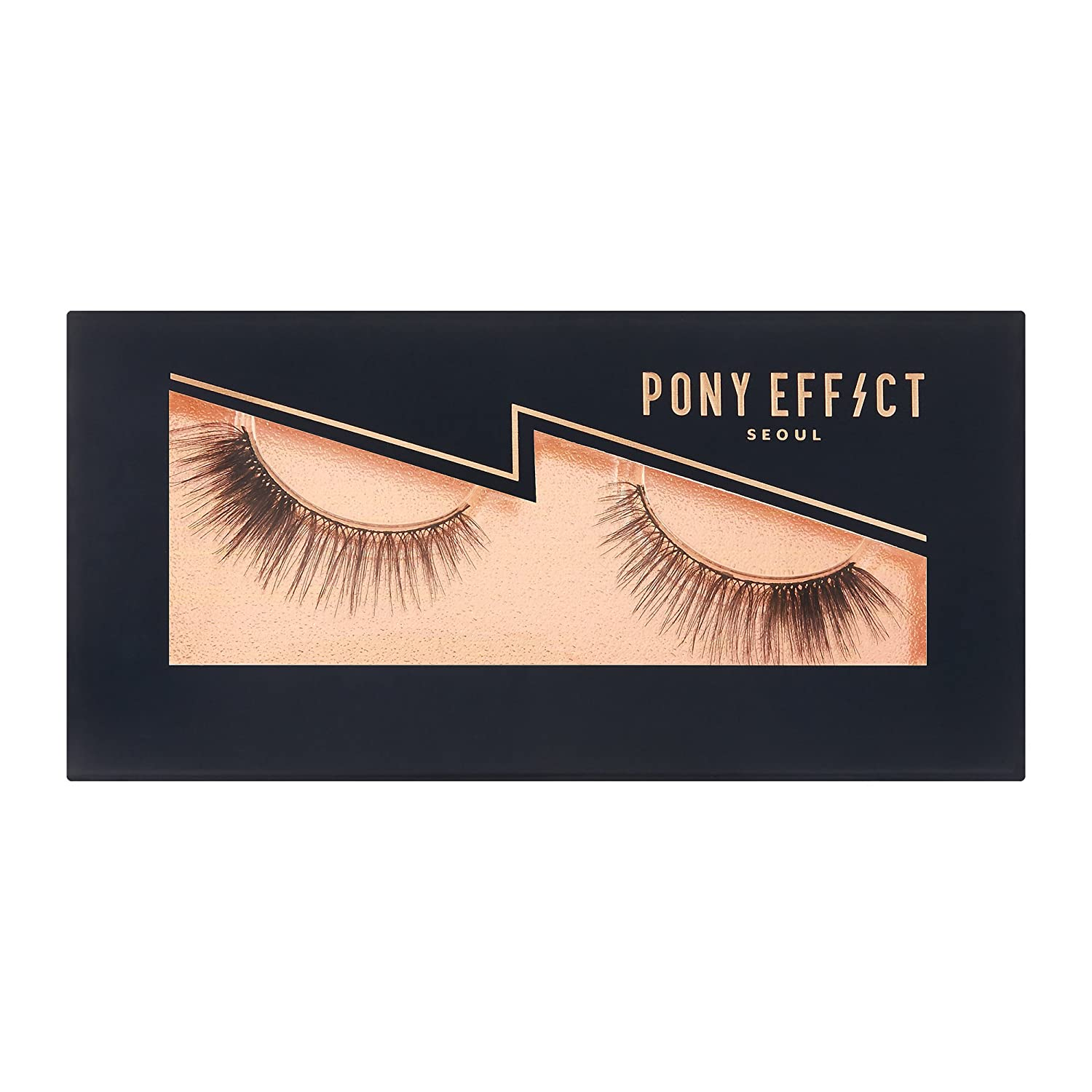 7f2f5bbb946 Amazon.com: PONY EFFECT Effective False Eyelashes (Bittersweet): Beauty
