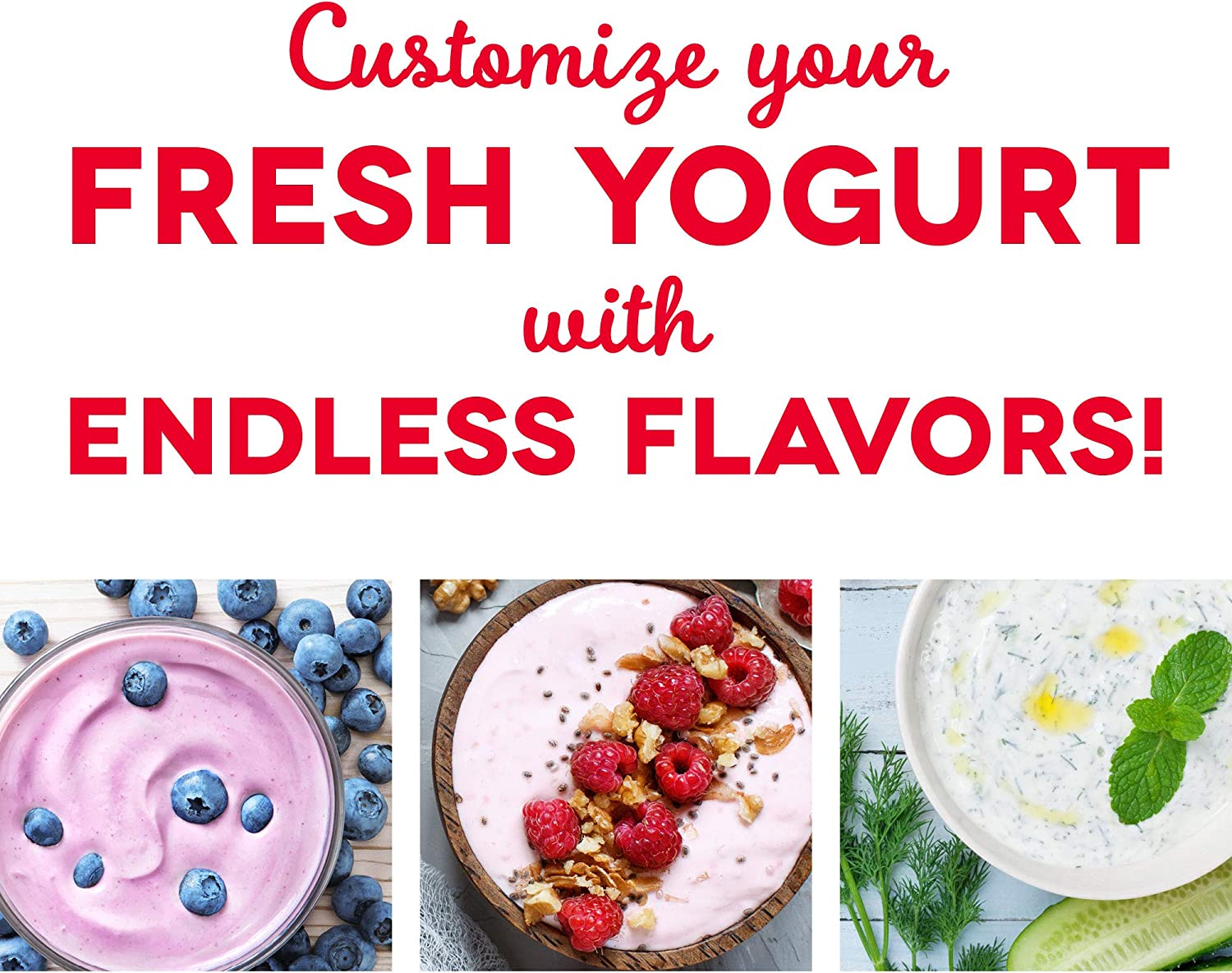 How does a yogurt maker work? Discover your own flavor