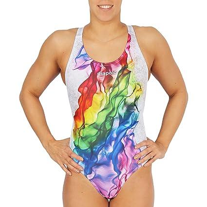 Diapolo Rainbow Smoke Mujer - Traje, Sinus, 34: Amazon.es ...
