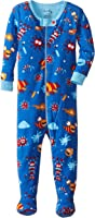Hatley Baby Boys 0-24m Infant Footed Coverall Micro Scopic Creatures Footies