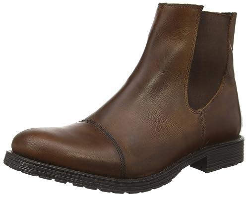 904a3dcfe52 Jack   Jones Jjradnor Leather 1 Boot Brown Ston - Botas de Otra Piel Hombre