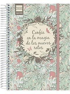 Finocam - Agenda 2019-2020 1 día página español Talkual Rosa ...