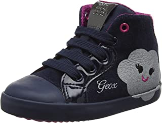 Geox B Kiwi C, Sneakers Basses bébé Fille Sneakers Basses bébé Fille B74D5C022HH