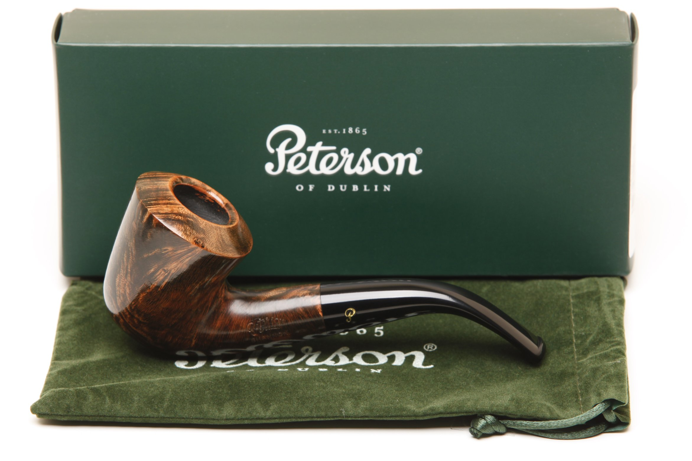 Peterson Shannon Briars B10 Tobacco Pipe Fishtail by Peterson
