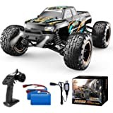 DEERC RC Cars High Speed Remote Control Car for Boys 16889 1:16 Scale 36+KM/H Fast 4WD RC Trucks with LED Lights,2.4GHz All T