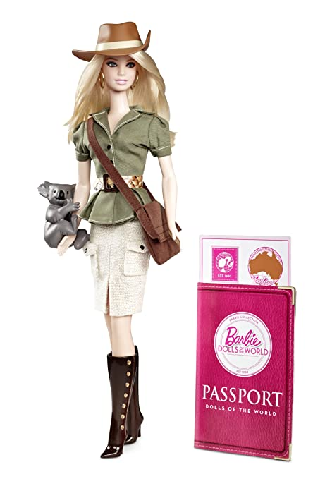 2012 DOLLS OF THE WORLD UNITED KINGDOM UK BRITISH BARBIE COLLECTOR