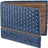 Laurels Men's Wallet Blue-TT-07