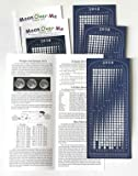 Moon Calendar 2018, Magnet, MoonMaggy - 3 Set, 3 Magnetic Calendars plus 3 Moon Over Me Almanac Information Cards