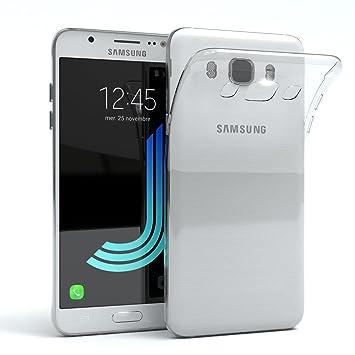 EAZY CASE Hülle für Samsung Galaxy J5 (2016) Schutzhülle Silikon, Ultra dünn, Slimcover, Handyhülle, Silikonhülle, Backcover,