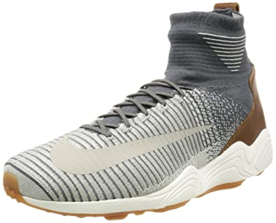 8af14fa60e66 Nike Men s Zoom Mercurial XI FK Dark Grey Pale Grey Casual Shoe 8 Men US