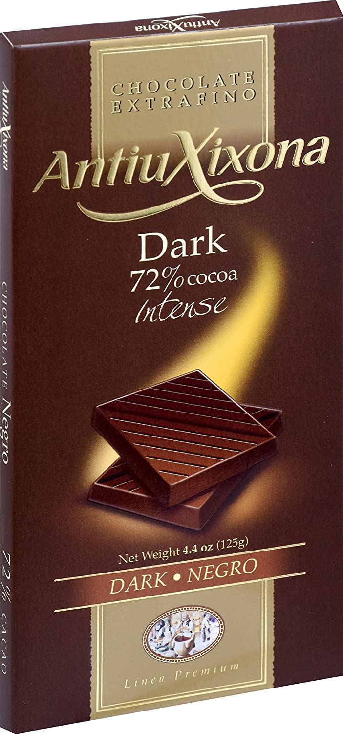 Amazon.com: Goya Foods Antiu Xixona Chocolate, Dark, 4.40 Ounce: Prime Pantry