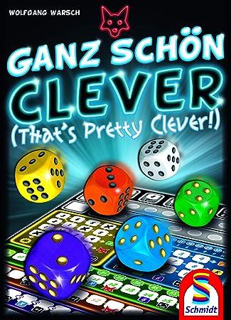 Schmidt Spiele CSG Ganz Schon Clever Game Dados, Reglas inglesas: Amazon.es: Juguetes y juegos