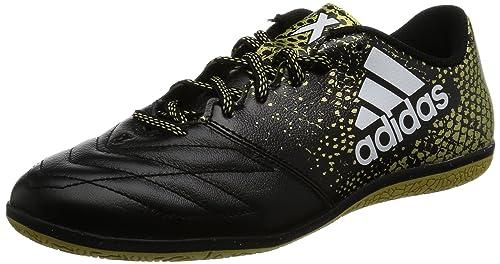 Scarpe Leather In 16 Da 3 Uomo Allenamento X Adidas Calcio Nero TxqXIA6gAw
