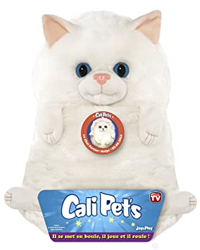 Cali Pets - Peluche Gato Persa, 35 cm (Dujardin 22107)