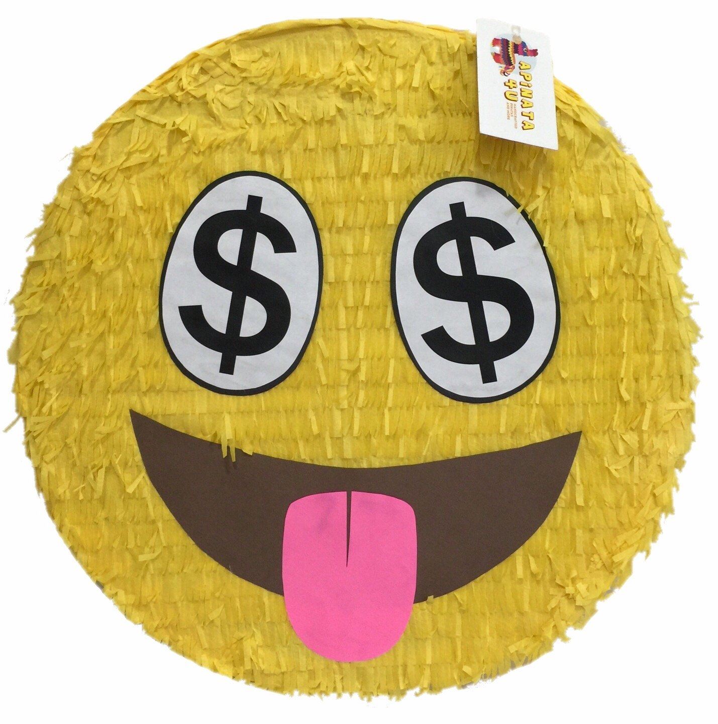 For the Love of Money Emoji Pinata