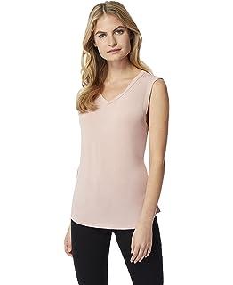 125b94abce Amazon.com: 32 DEGREES Women Cool Luxe Modal Short Sleeve Tee Shirt ...
