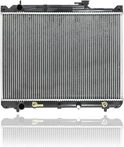 Radiator - Koyorad For/Fit 2430 01-03 Suzuki XL7 01-05 Grand Vitara 2.5L 01-03 Vitara 2.5L Automatic Transmission Plastic Tank, Aluminum Core