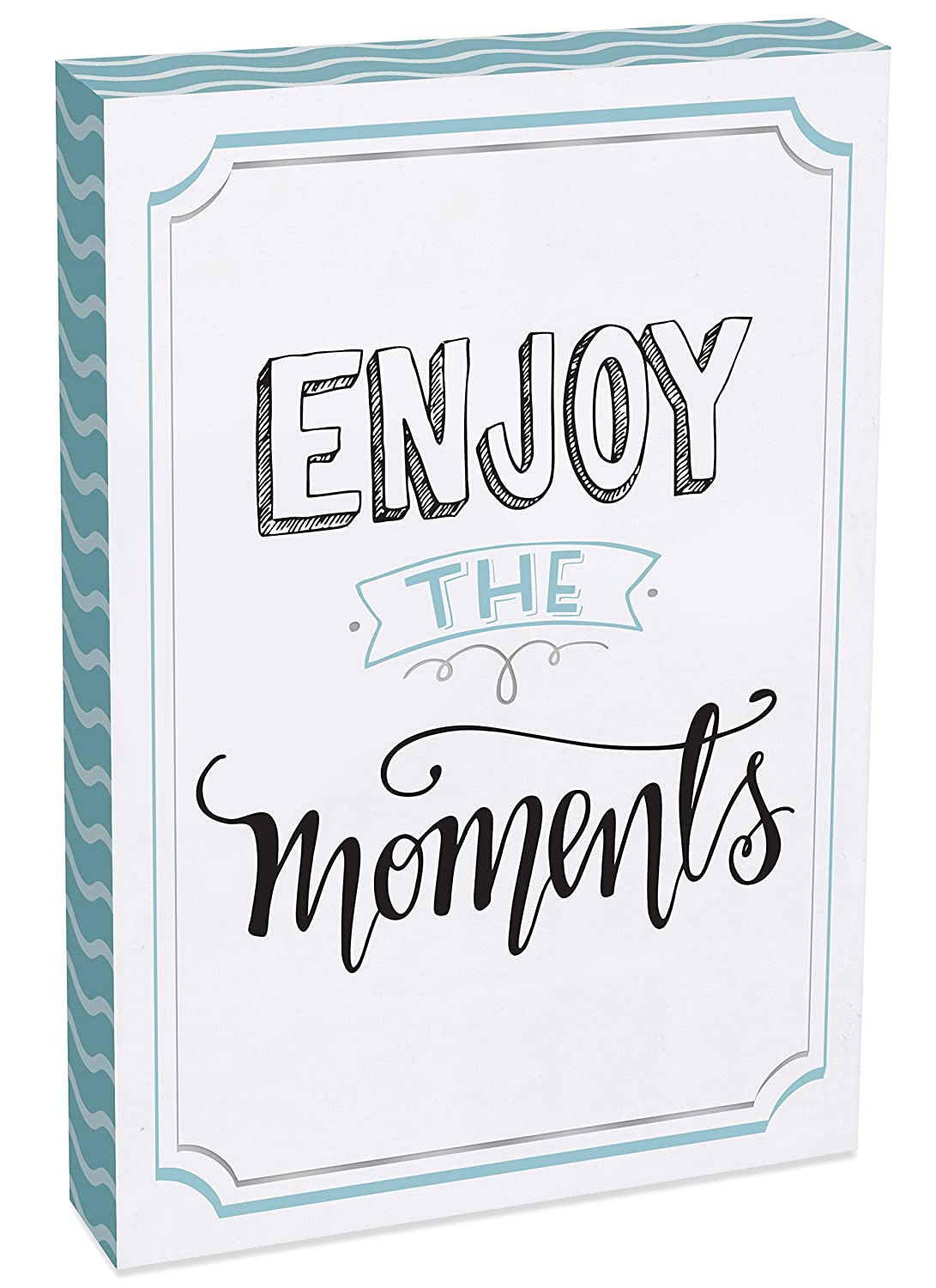 8 x 12 AngelStar Enjoy The Moments Wall Plaque