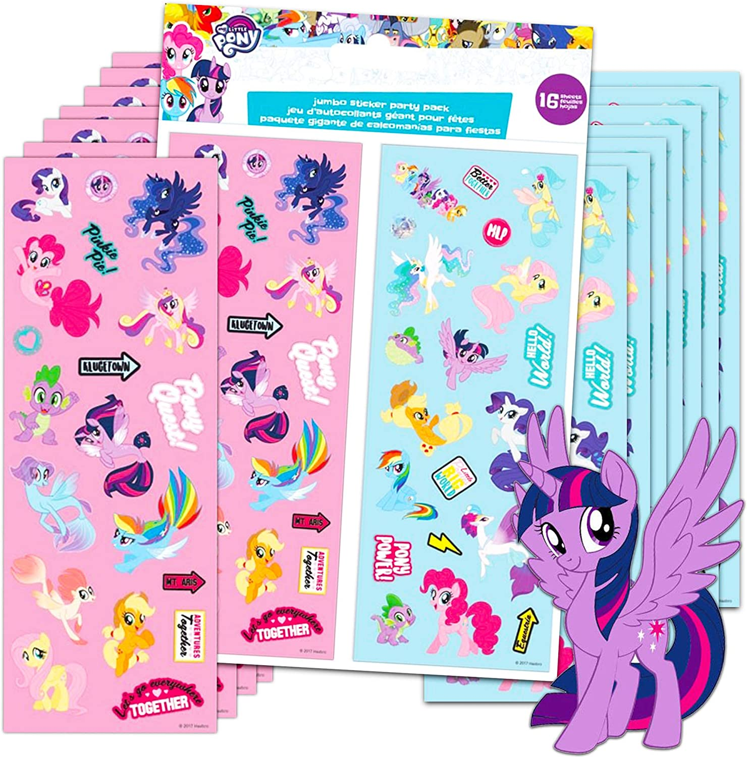 Party Favors Large Stickers Rewards 10 I Love Horses