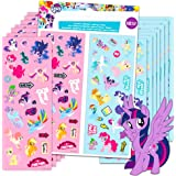 My Little Pony Stickers Party Favors 16 Sheets Over 380 Stickers Plus 2 Separately Licensed Reward Stickers - MLP Favorites Include Rainbow Dash, Twilight Sparkle, Pinkie Pie, Rarity, and More!