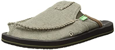 4ba71aeb57045 Image Unavailable. Image not available for. Color: Sanuk Men's You Got My  Back II Slip ...