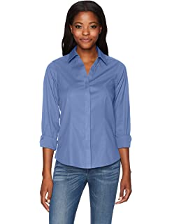 Foxcroft Women S Taylor Essential Non Iron Blouse At Amazon Women S