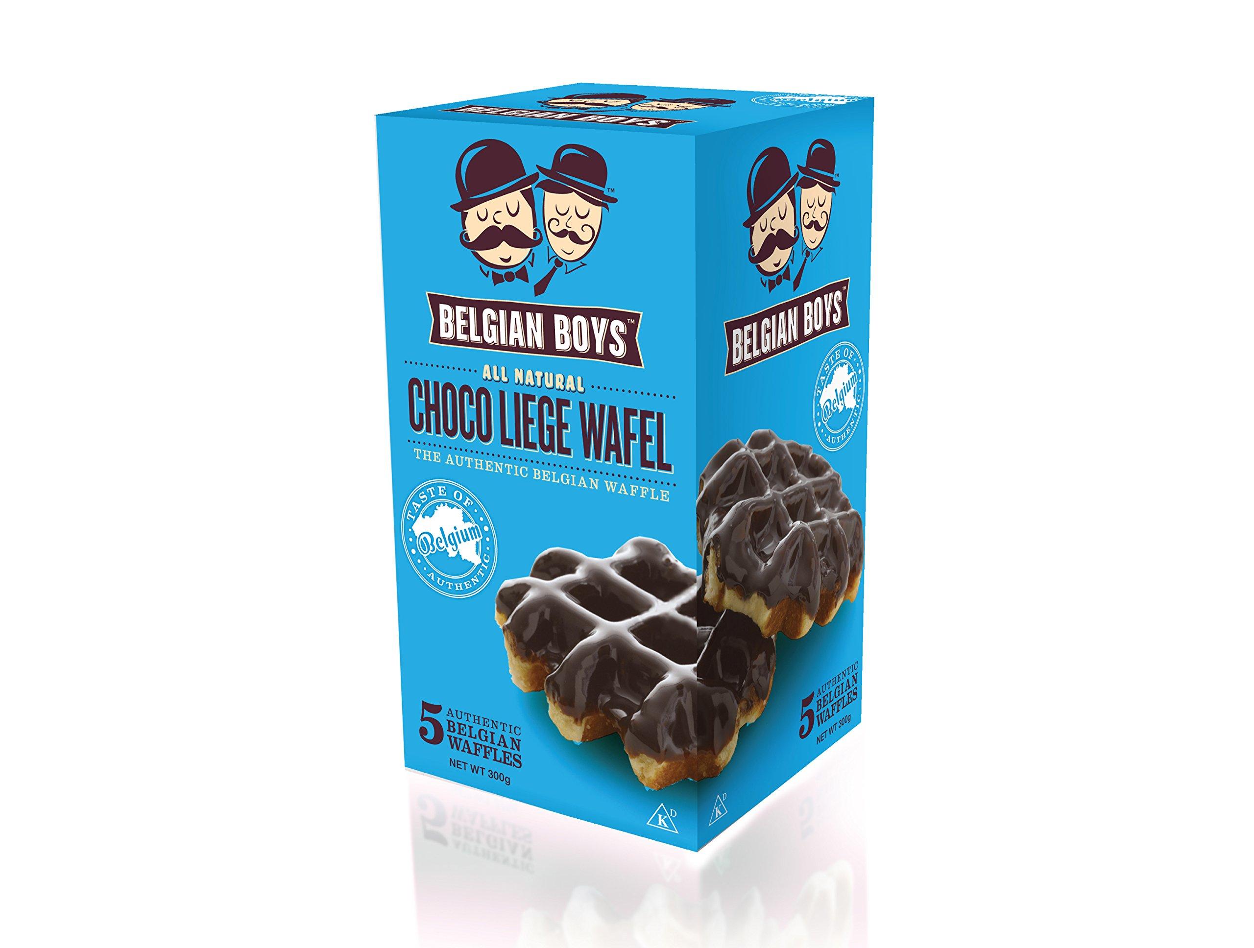 Belgian Boys Choco De Liege Wafel, 2.11 Ounce (Pack of 5)