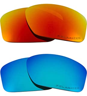 3952fb1c57 VALVE Replacement Lenses Polarized Blue   Red by SEEK fits OAKLEY Sunglasses