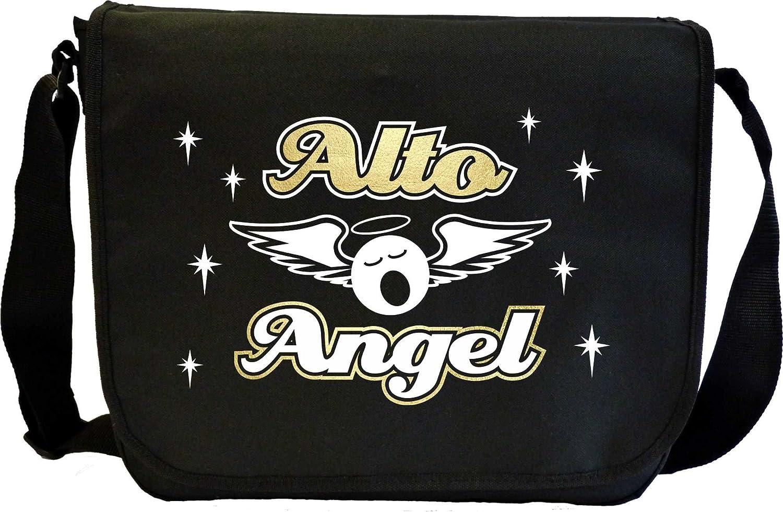 Vocalist Singing Alto Angel - Sheet Music Document Bag Sacoche de Musique MusicaliTee