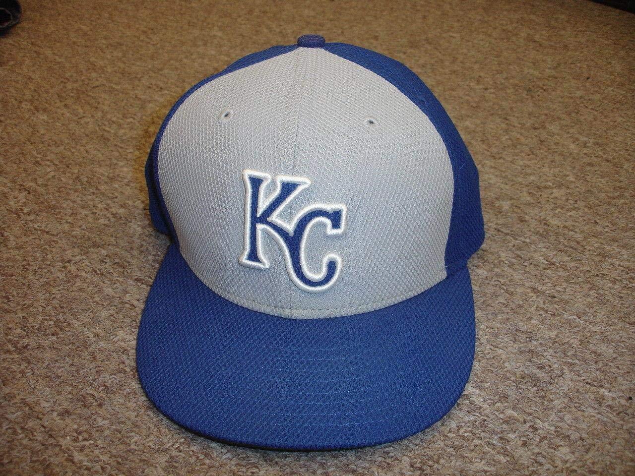 circa 2015 Rafael Belliard Kansas City Royals Game Used Coaches Hat size 7 1/8 Game Used MLB Hats