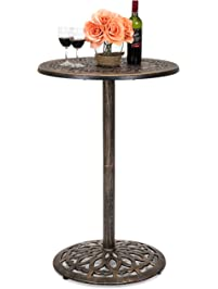 Amazon Com Bistro Tables Patio Lawn Amp Garden