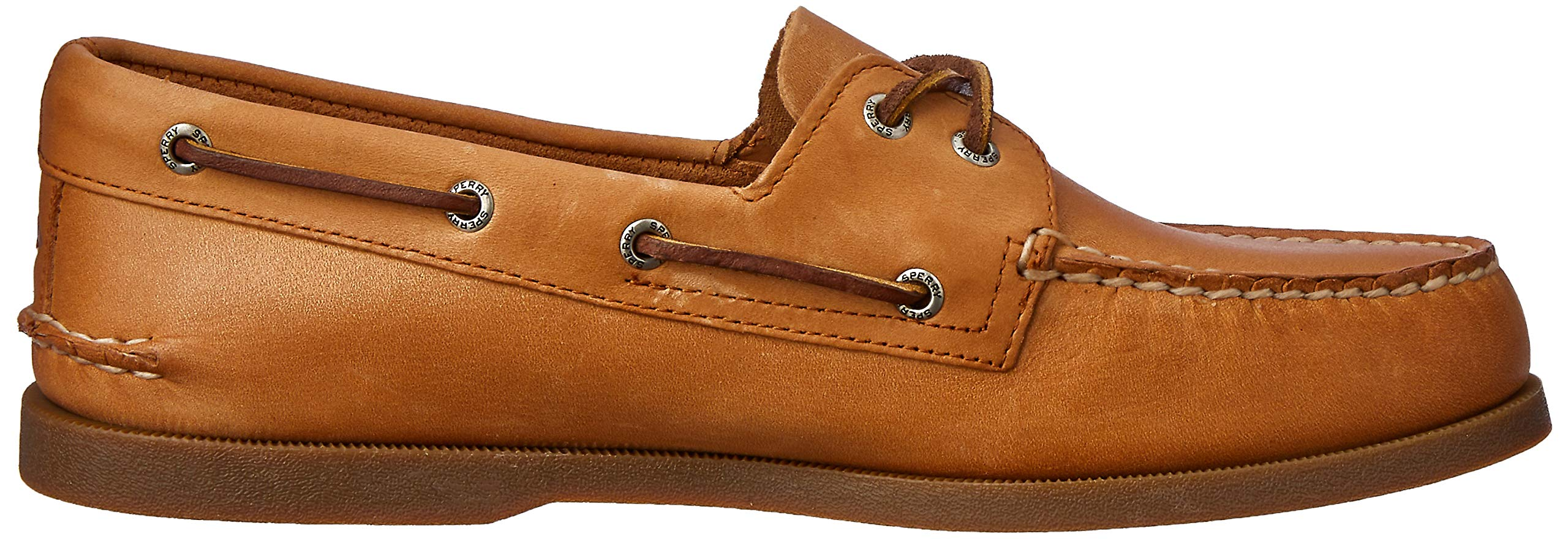 Sperry Top-Sider Authentic Original Leather Boat Shoe Men 13 Sahara Leather by SPERRY (Image #7)