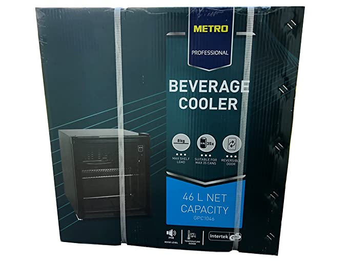 Kühlschrank Minibar Getränkekühlschrank Silber A Edelstahl Glastür 80l : Kompakt kühlschrank buyitmarketplace