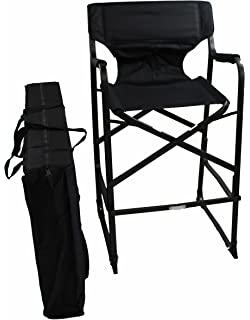 World Outdoor Products Lightweight PROFESSIONAL EDITION Tall Directors Chair  With Carry/Storage Bag