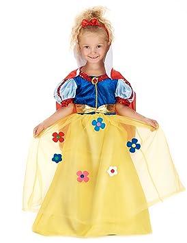 Disfraz de princesa del bosque colorido niña - De 1 a 2 años ...