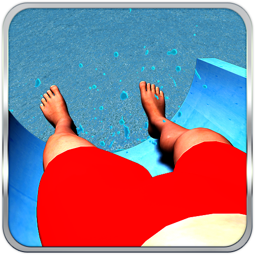 Water Slide Park Simulator (The Best Water Slides)