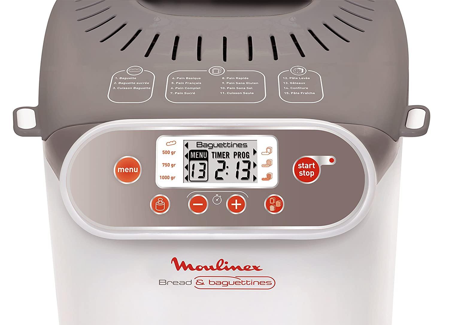 Moulinex OW3501 - Panificadora (Beige, Color blanco, 700 W, 700 W): Amazon.es: Hogar