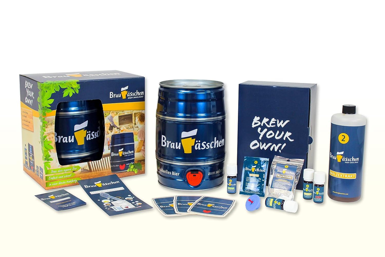 Premium Bierbrauset zum selber Brauen – Weißbier-Experimentierset – In 7 Tagen gebraut Customized Drinks GmbH
