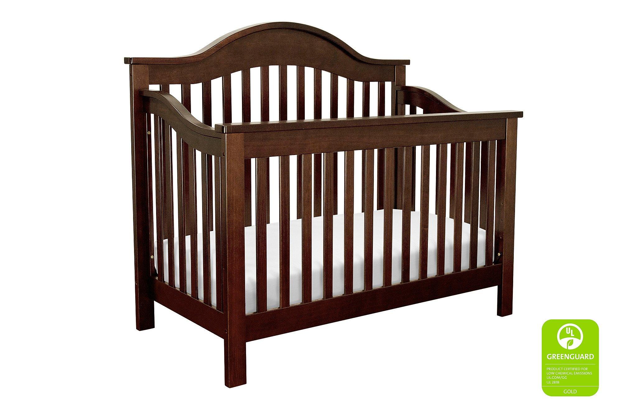 Davinci Jayden 4-in-1 Crib Full Size Conversion Kit Bed Rails - Espresso