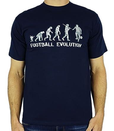 My Generation Gifts Football Evolution - Regalo divertido del cumpleaños del fútbol/presente para hombre de la camiseta: Amazon.es: Ropa y accesorios