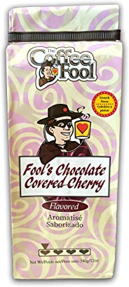 THE COFFEE FOOL Fool's Chocolate Covered Cherry (French Press) 12 Ounce