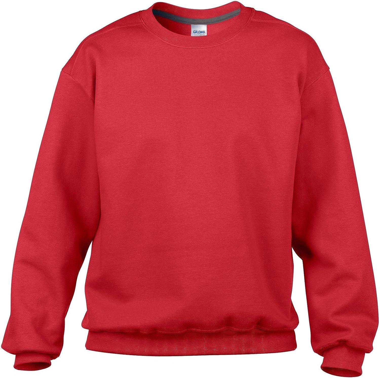 Gildan Mens Premium Cotton Crew Neck Sweatshirt