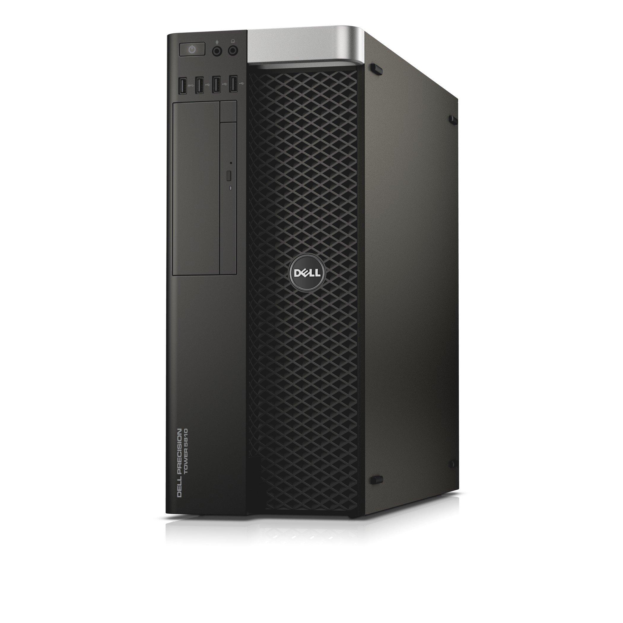 Dell Precision T5810 Workstation Desktop Computer, Intel E5-1650 v4, 32GB DDR4, 1TB Hard Drive, Windows 10 Pro PRT5810-1093 by Dell